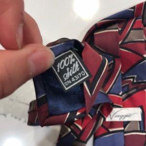 viaggio Accessories - NWOT Viaggio 100% silk tie